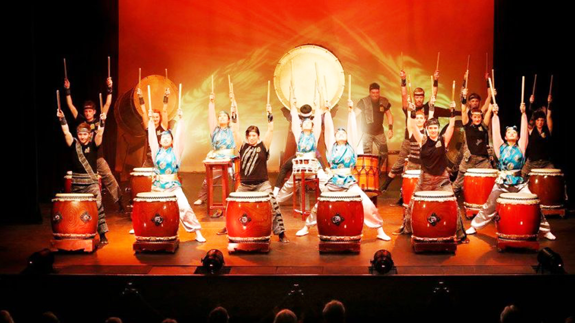 Be entertained by a rhythmic medley of traditional and modern Japanese music. Using a broad range of Japanese percussion instruments, the performers ensemble taiko drumming, composed by members of the group and commissioned composers. The work is contemporary, often collaborations with other performing art mediums and draws influence from western art music, traditional music and sound design.